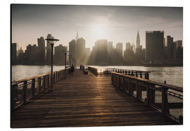 Dennis Fischer - New York City sunset aussicht