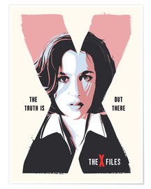 Premium-Poster Dana Scully, X Files