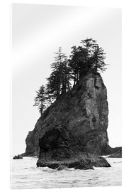 Acrylglas  Felsen am Second Beach im Olympic National Park, USA - Peter Wey