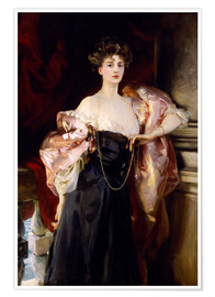 Premium-Poster Lady Helen Vincent, Viscountess of d'Abernon