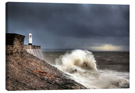 Leinwandbild  Porthcawl Lighthouse - Simon West