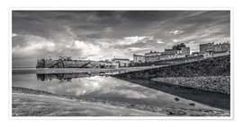 Premium-Poster Tenby Harbour Reflections