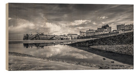 Holzbild  Tenby Harbour Reflections - Simon West