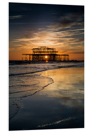 Forex  Brighton West Pier Sunset - Simon West