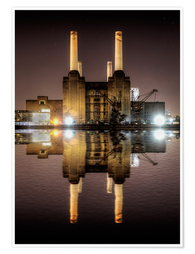 Premium-Poster Battersea Power Station