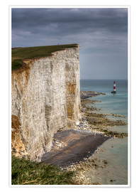 Premium-Poster Beachy Head