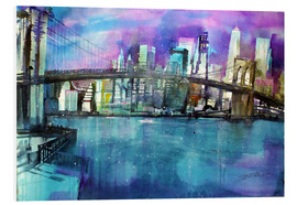 Johann Pickl - New York Brooklyn Bridge