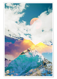 Premium-Poster Dreaming Mountains