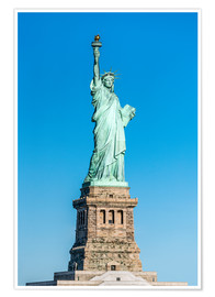 Premium-Poster  Freiheitsstatue auf Liberty Island, New York City, USA - Jan Christopher Becke