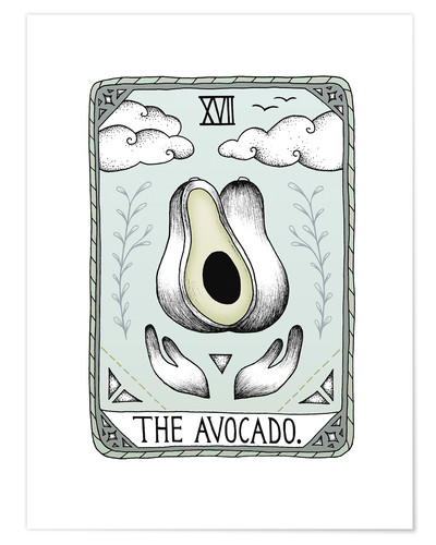 Premium-Poster The Avocado