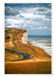 Premium-Poster Beachy Head United Kingdom