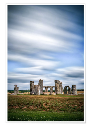 Poster Stonehenge, United Kingdom