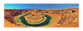Poster  Horseshoe Bend - fotoping