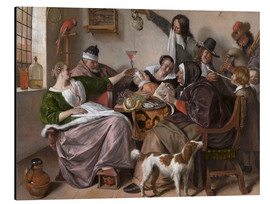 Alubild  As Old Sing, So Pipe the Young - Jan Havicksz. Steen