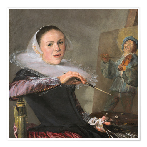 Premium-Poster Judith Leyster