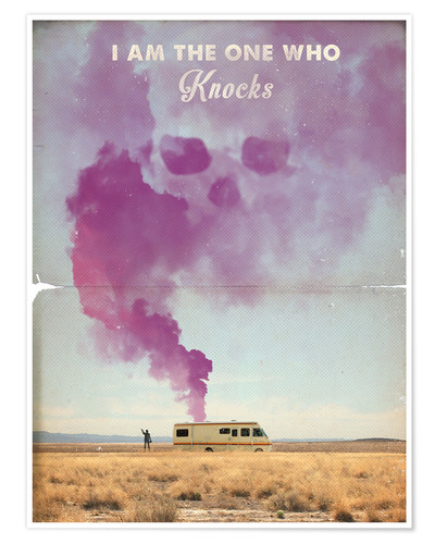Premium-Poster The One Who Knocks, Breaking Bad