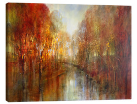 Leinwandbild  and the forests will echo with laughter - Annette Schmucker