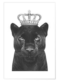 Premium-Poster  The King panther - Valeriya Korenkova