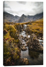 Leinwandbild  Fairy Pools, Isle of Skye - Sören Bartosch