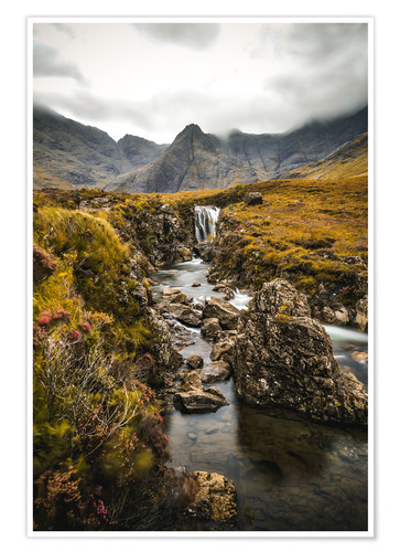 Premium-Poster Fairy Pools, Isle of Skye