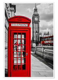 Poster  London calling no.1 - Art Couture